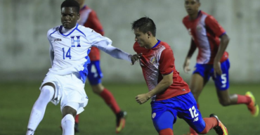 """La """"H"""" Sub-17 cayó ante Costa Rica pero clasificó al Premundial del próximo año"""
