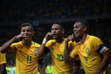 Brasil vence por 3-0 el clásico ante Argentina y se afianza como líder