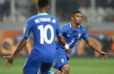 Brasil vence a Perú y queda a las puertas del Mundial