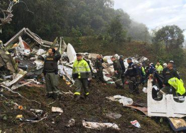 Chapecoense, finalista de Sudamericana, sufrió accidente aéreo