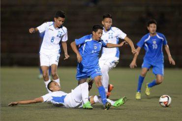 """La """"H"""" Sub-17 desaprovecho de asegurar el pase el Premundial al caer ante Nicaragua"""
