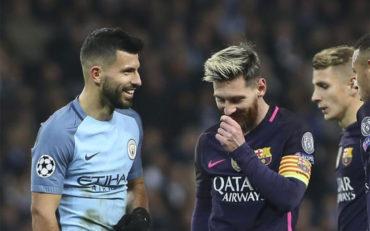 Jugadores del Manchester City se burlaron de Leo Messi