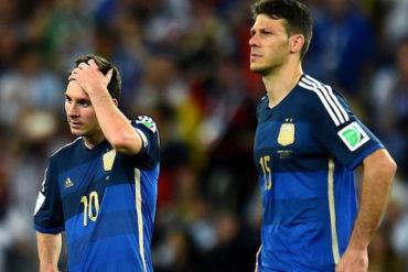 Demichelis defendió rendimiento de Messi con Argentina