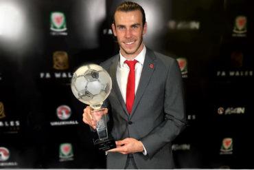 Bale gana por sexta vez el premio a mejor futbolista galés del año
