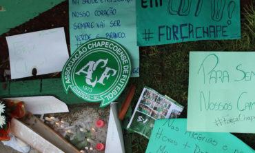 La ciudad de Chapecó se volcó para rendir tributo a sus héroes