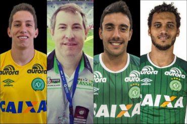 Los seis sobrevivientes del accidente de avión del Chapecoense