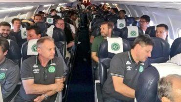 El equipo brasileño tenía planeado viajar en un vuelo chárter