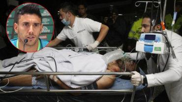 """Alan Ruschel sobreviviente del Chapecoense: """"Mi familia, mis amigos… ¿dónde están?"""""""