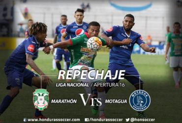 Marathón-Motagua, comienzan su ruta a la semifinal