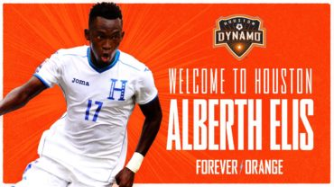 OFICIAL: Houston Dynamo de la MLS ha confirmado el fichaje de Alberth Elis