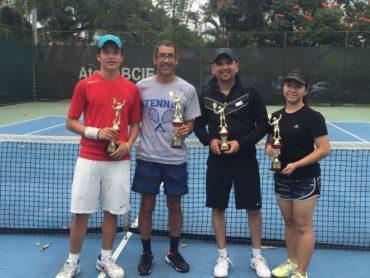 Juan Agüero ganador del Torneo abierto navideño del Club BCIE