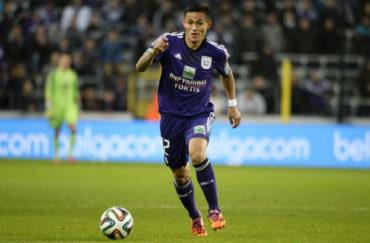 Anderlecht goleó al AS Eupen con gran actuación de Andy Najar
