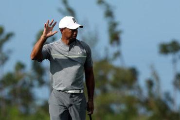 Tiger Woods levanta presion en el Hero World Challenge