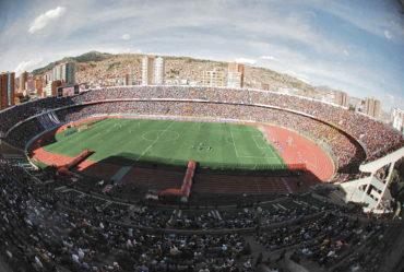 A 4.000 metros sobre el nivel de mar, Bolivia contará con el estadio más alto del mundo