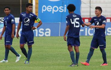 Olimpia-Motagua pegan primero en la semifinal del Torneo Reservas