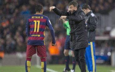Luis Enrique defendió a Neymar pese a su 'mal momento'