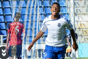 """Anthony """"Choco """"Lozano ha vuelto a la línea del gol con Tenerife"""