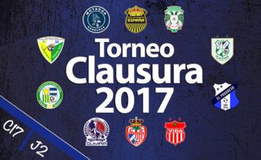 Vuelve nuestra Liga, Lista la jornada #2 del Torneo Clausura