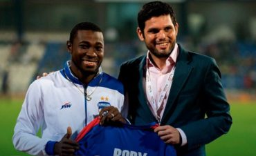 Bengaluru FC de India presentó oficialmente a Roby Norales