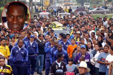 """Su recuerdo sigue presente, hoy se cumplen 14 años del vil asesinato del """"Chocolate"""" Flores"""