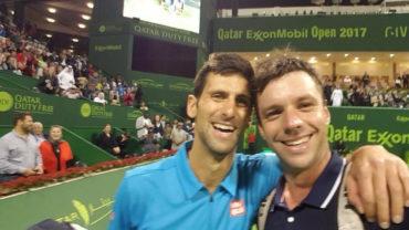 Djokovic ganó a Zeballos en Qatar, rival le pidió selfie