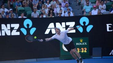 Andy Murray fue derrotado y se despidió de Australia