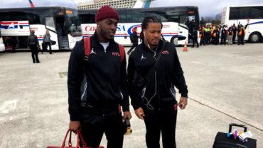 Falcons arribaron a Houston, listos para el Super Bowl LI