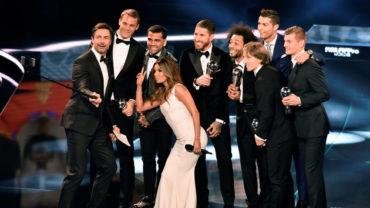 Cristiano Ronaldo y Messi encabezan Equipo Ideal de FIFA 2016