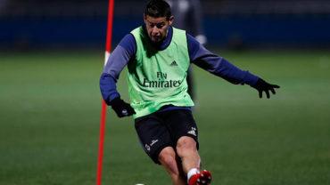 Zidane confía en que James deje atrás la lesión