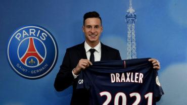 El PSG presentó oficialmente al alemán Julian Draxler