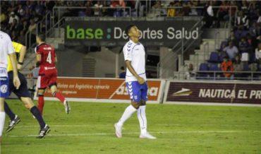 Anthony Lozano y el Tenerife siguen con las opciones intactas de ascender a la Primera división de España