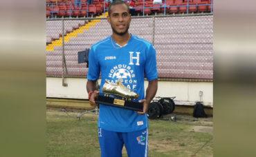 Eddie Hernández se proclamó campeón goleador de la Copa Centroamericana