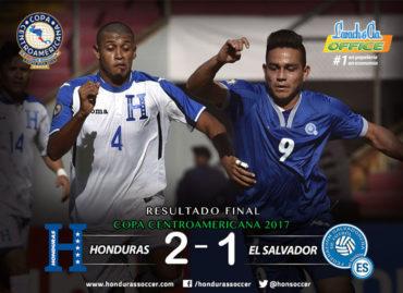 """La """"H"""" vence a El Salvador y se convierte en líder absolutos de la Copa Centroamericana"""