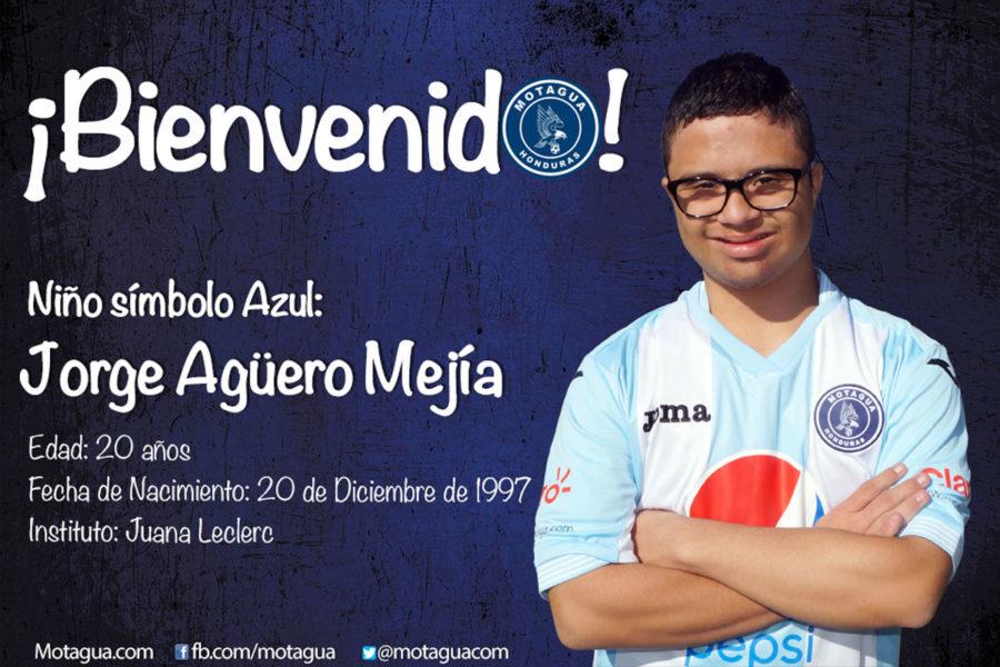 Motagua presentó de manera oficial sus dos niños símbolos para el Torneo de Clausura 2017
