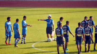 """La """"H"""" no descansa, se sigue preparando de cara a la Copa Centroamericana,"""