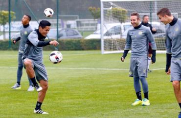Anderlecht de Bélgica informó que Andy Najar volvió a los entrenamientos