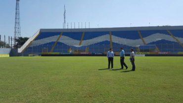 La Concacaf estuvo visitando el Estadio Morazan