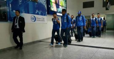 """La """"H"""" ya está en Guayaquil para enfrentar a la selección de Ecuador"""