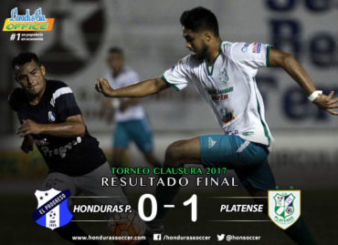 Platense conquistó un gran triunfo de visita al vencer al Honduras Progreso