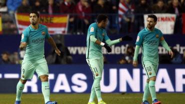 Con sufrimiento, Barcelona venció al Atlético en semifinal de la Copa del Rey