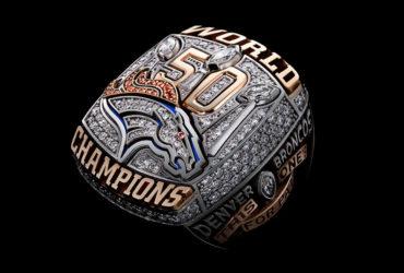 Todos los anillos de los campeones del Super Bowl