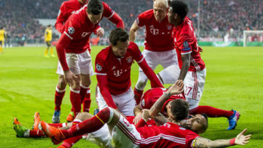 Goleada bávara, Bayern dejó sin esperanzas al Arsenal