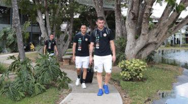 La Selección de Costa Rica llegó hoy a Honduras