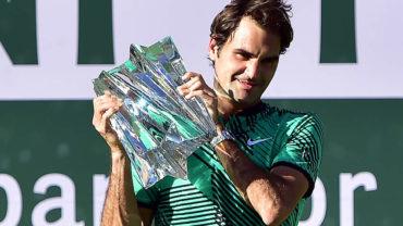 Roger Federer logró su quinto título en Indian Wells