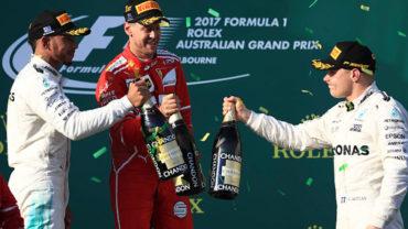 Vettel acabó con sequía; se lleva el GP de Australia