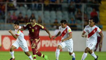 Perú y Venezuela firmaron un empate inservible en la eliminatoria