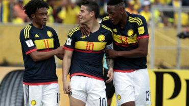 Colombia venció a Ecuador y sigue con paso firme rumbo a Rusia 2018