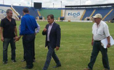 """La """"H"""" podría jugar ante los EE.UU. en el Estadio Nacional de Tegucigalpa"""