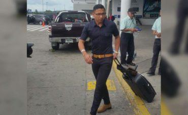 """Emilio Izaguirre llego al país para incorporarse a la """"H"""""""