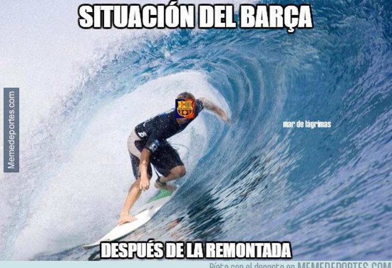 Los memes que dejó la épica remontada del Barcelona ante PSG
